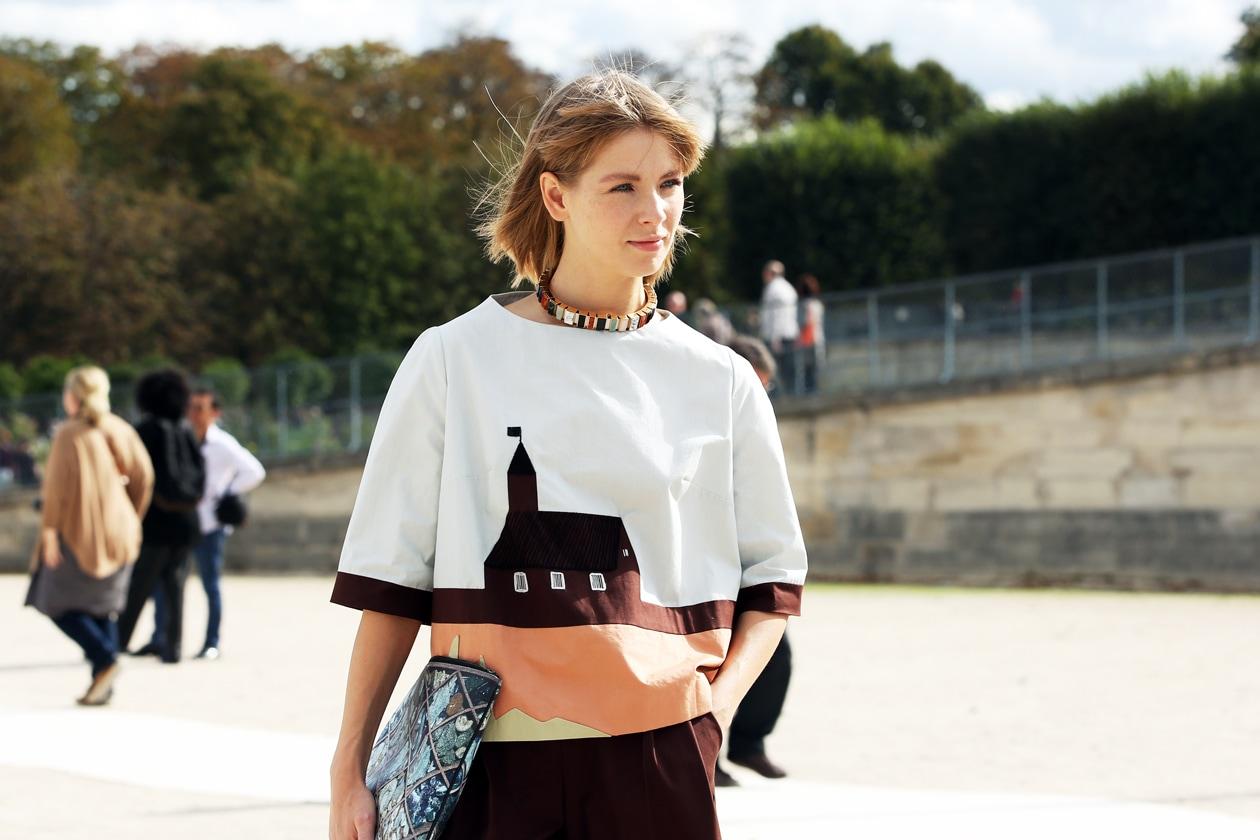 Paris Fashion Week Street Style: 2 Ottobre 2012