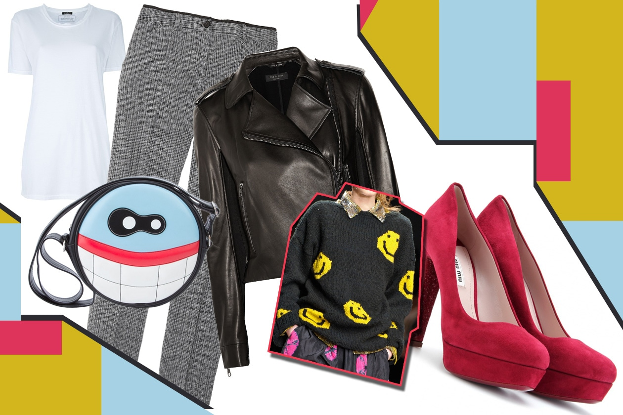 Look cartoon Easy Chic Collage