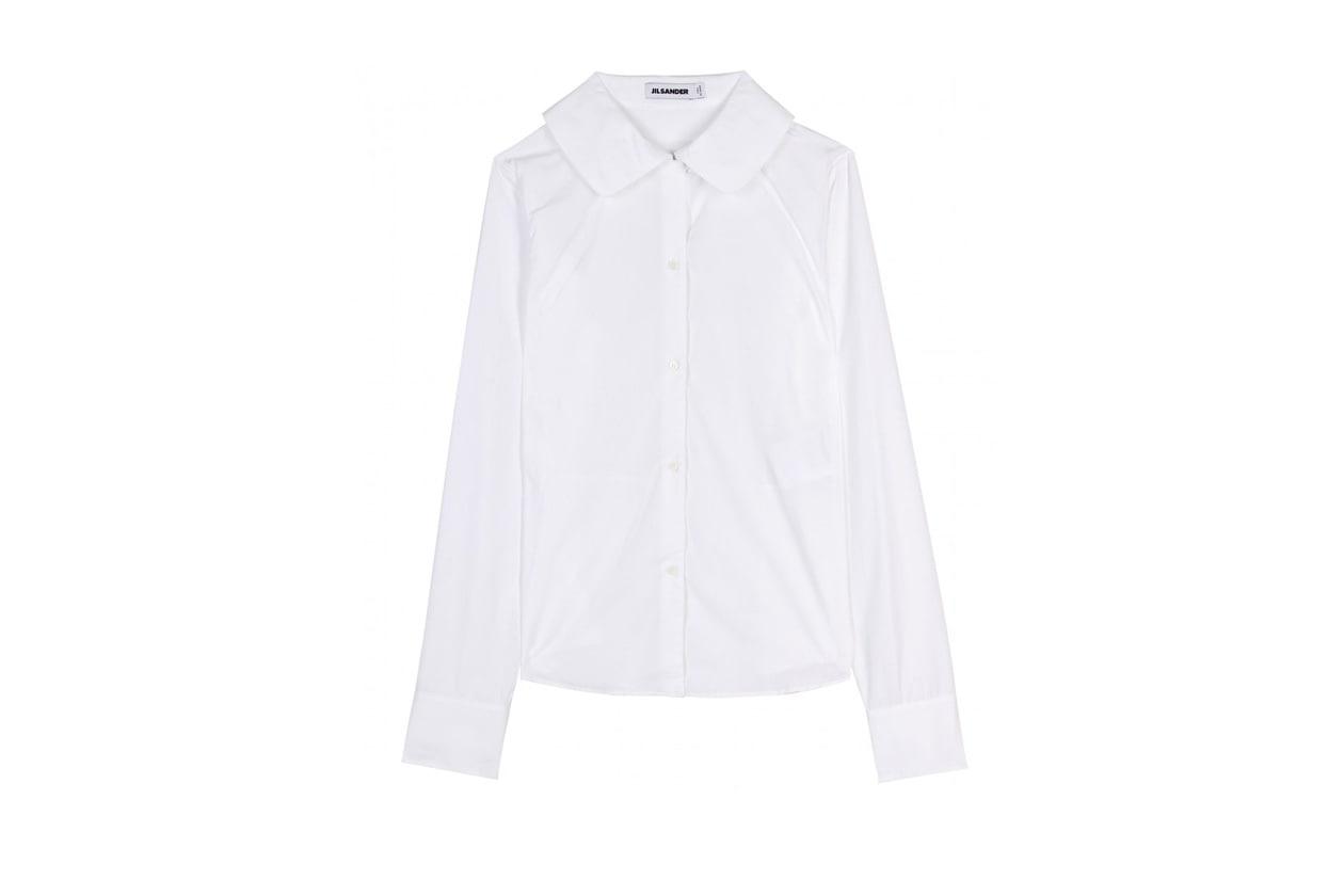 Camicia bianca di jil sander