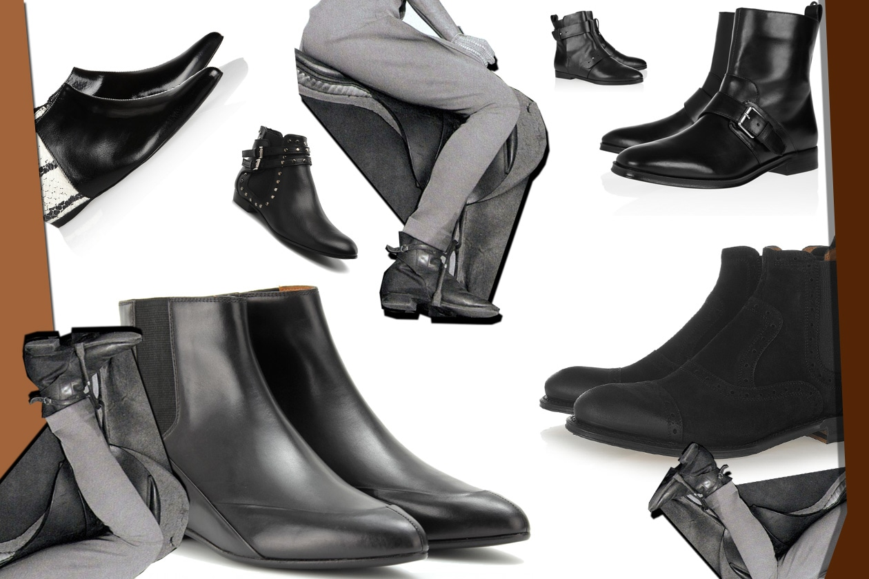 00 Flat Shoes Stivalino Collage