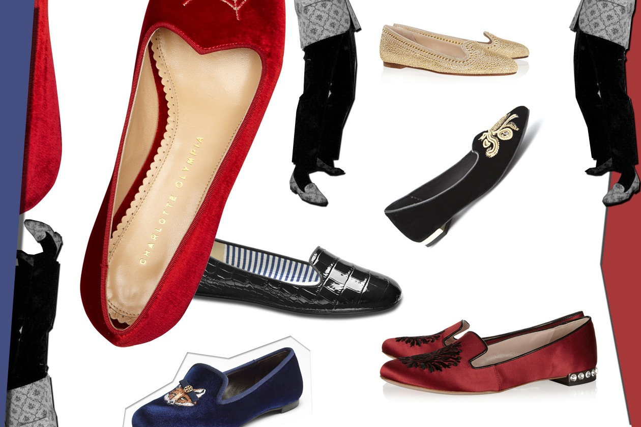 00 Flat Shoes slippers Collage