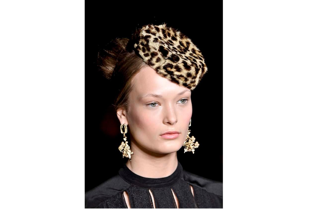 Alle amanti del cappello: scegliete l'animalier di Temperley London