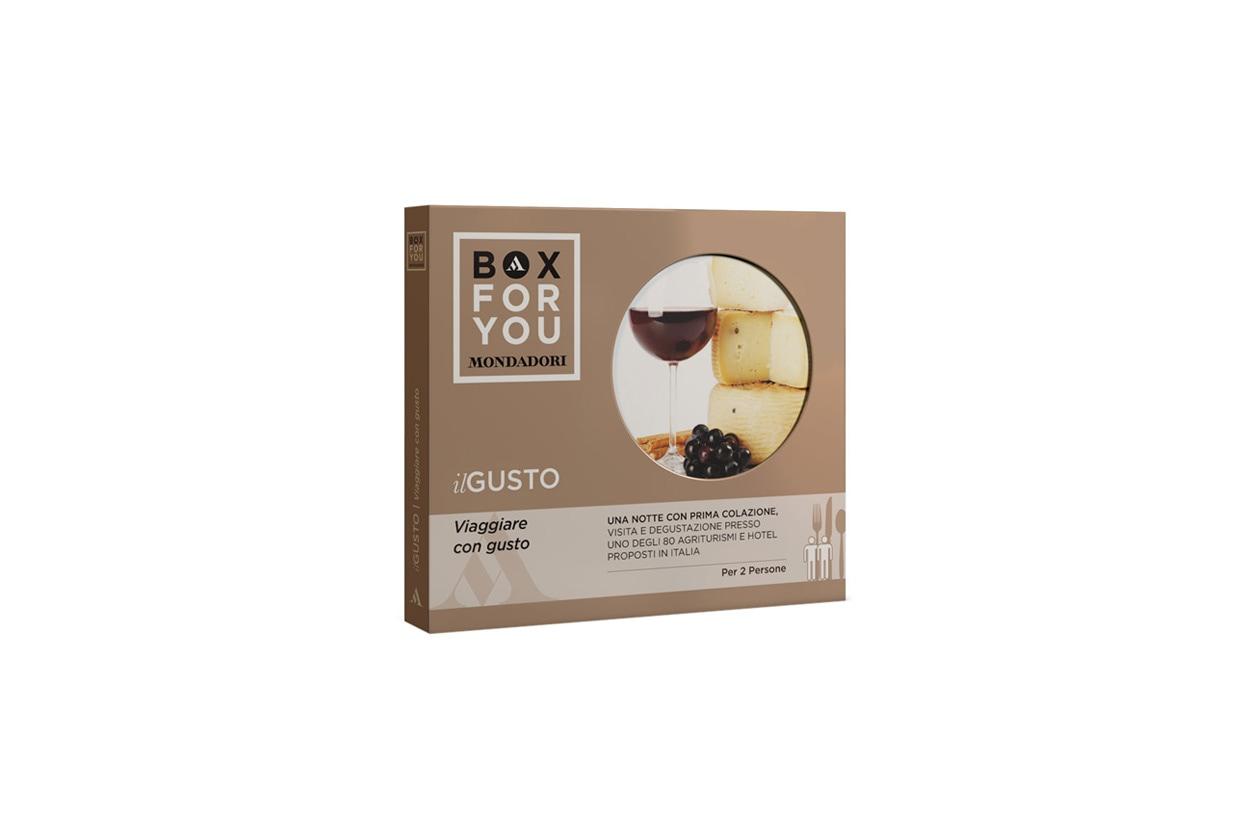 BOX FOR YOU il Gusto Viaggiare con gusto