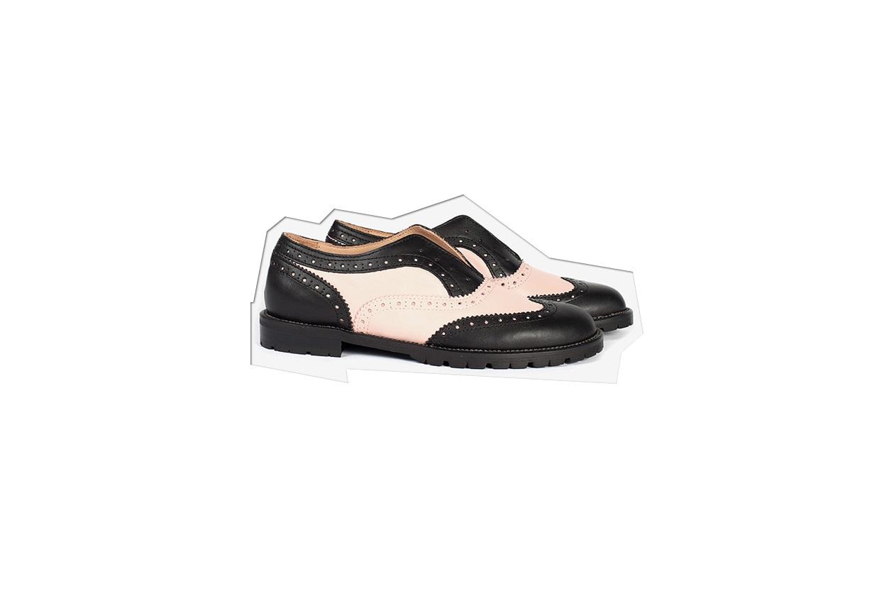 Flat Shoes Stringate licia florio