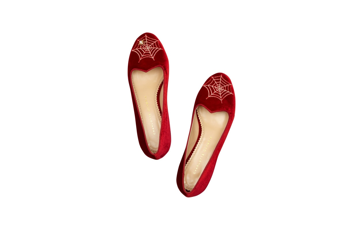 Flat Shoes slippers charlotte olympia