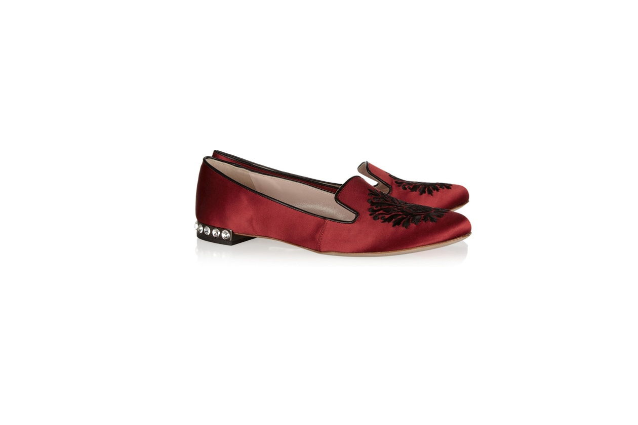 Flat Shoes slippers miu miu