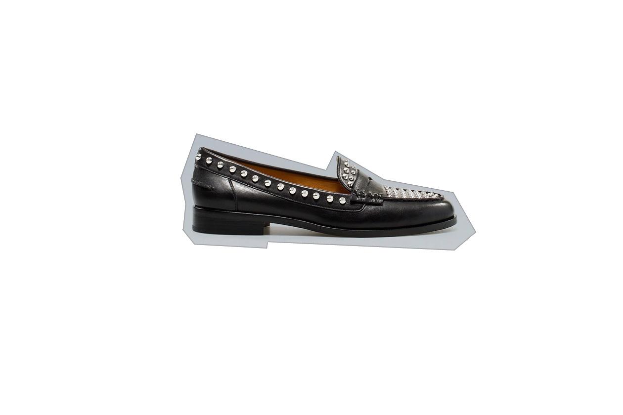 Flat shoes mocassino Zara