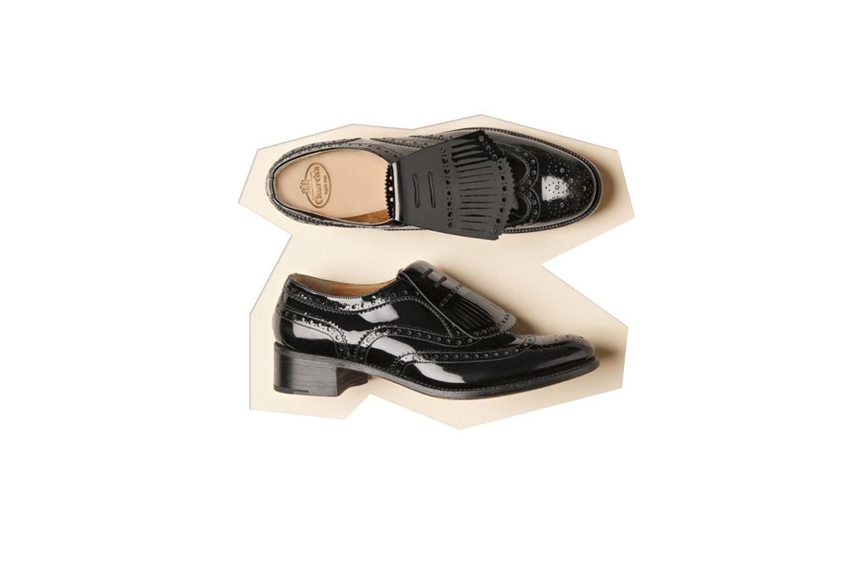 Flat shoes mocassino churchs