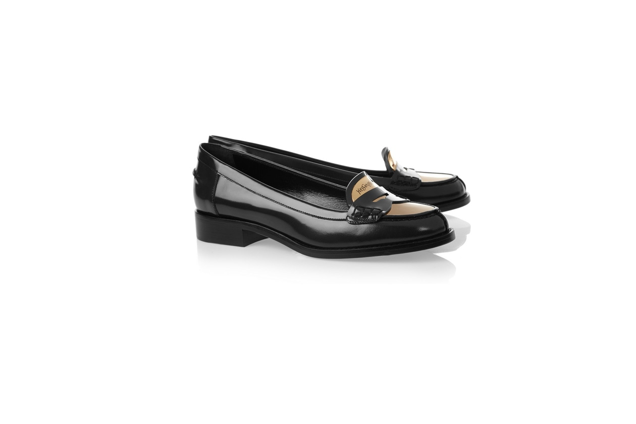 Flat shoes mocassino ysl