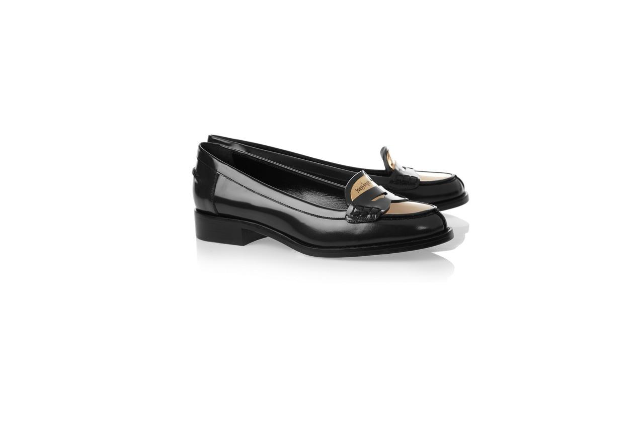 Flat shoes mocassino ysl