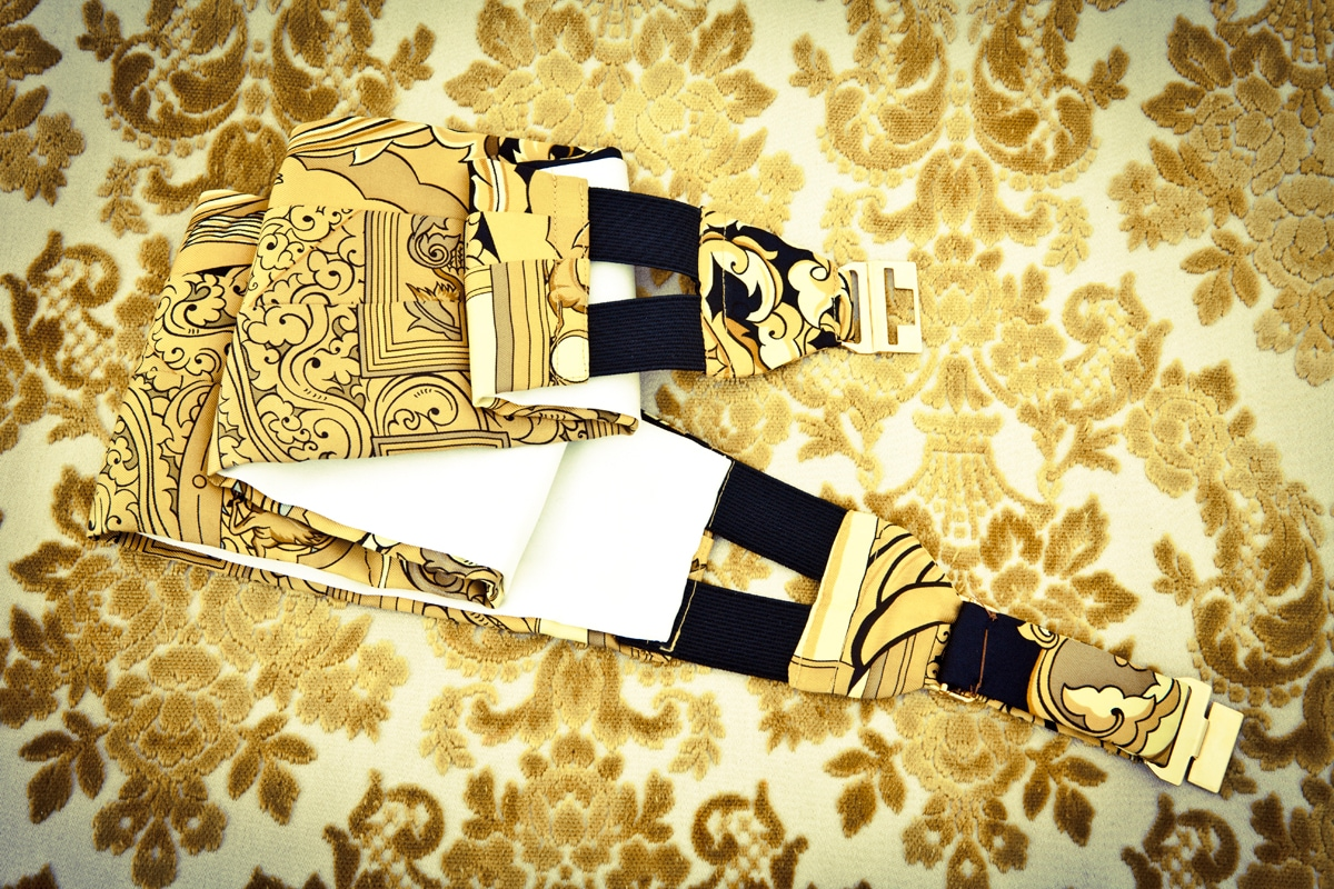 Greta Airenti fascia Hermes
