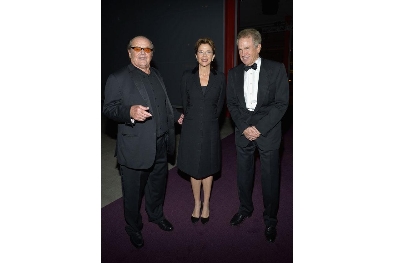 Jack Nicholson Warren Beatty & Annette Bening 2