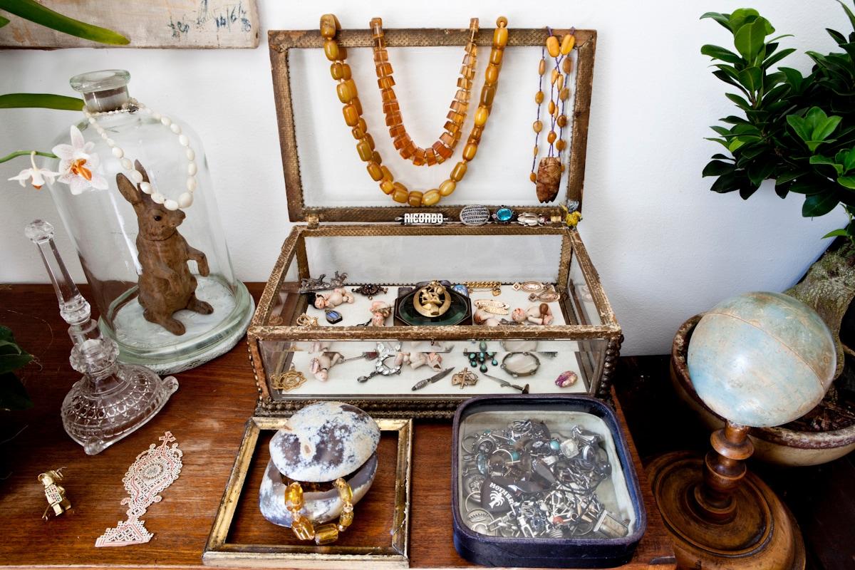 Le teche di bijoux di Manuel Menini
