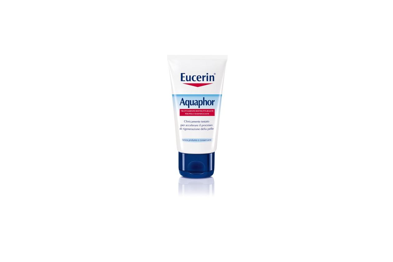 Per le pelli danneggiate ma sensibili c'è Aquaphor di Eucerin
