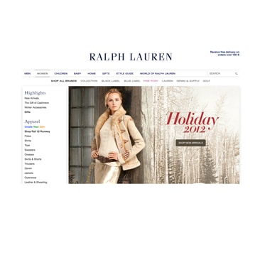 Ralph Lauren: al via lo shopping in Europa