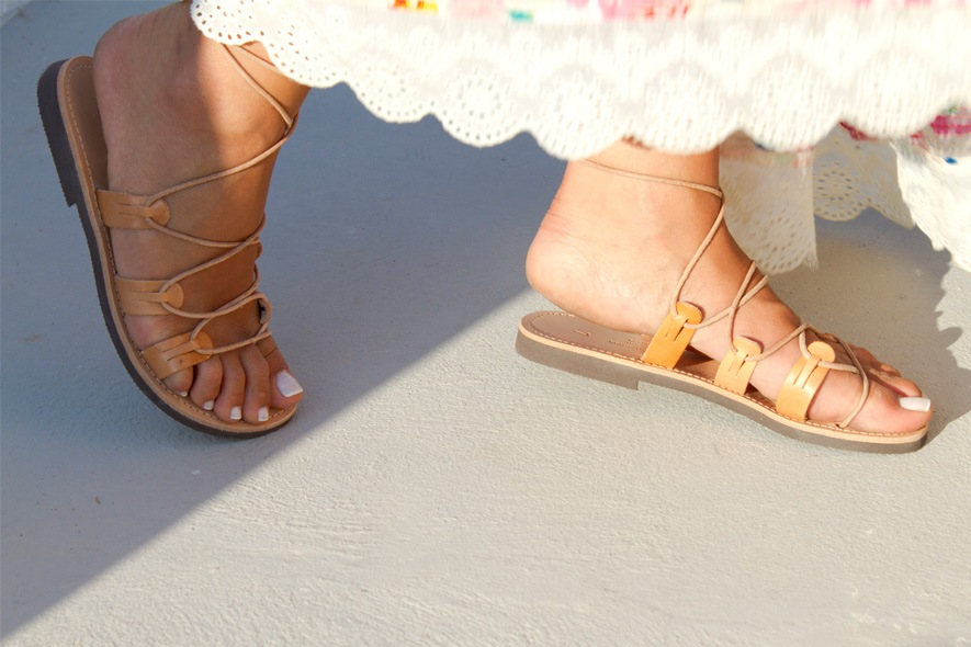 Sandali lacci