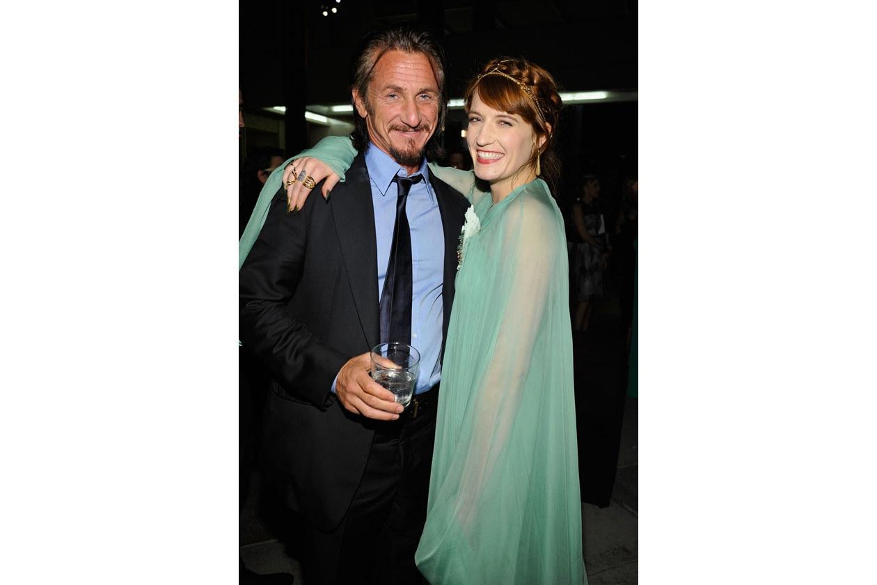 Sean Penn & Florence Welch