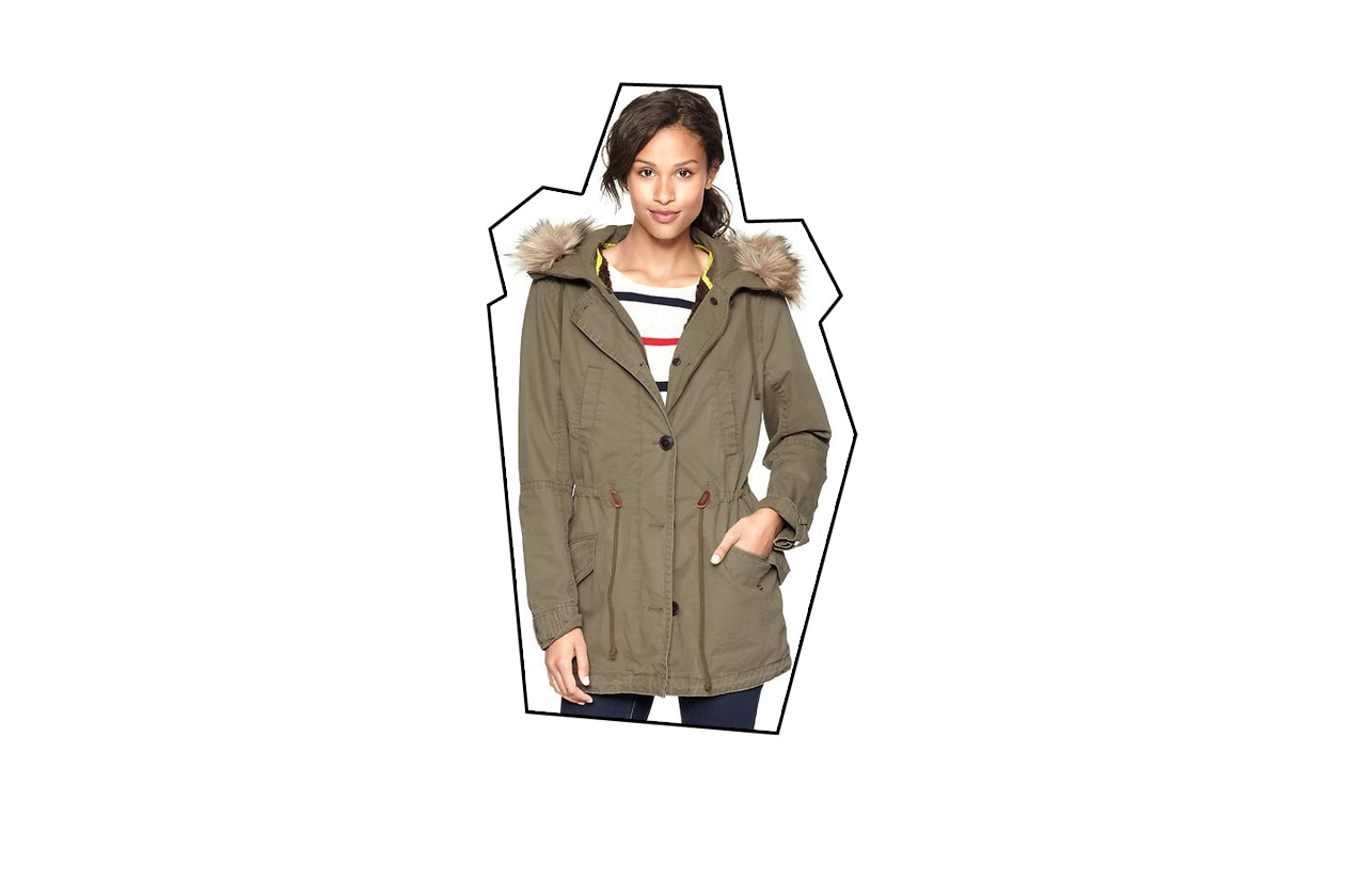Top List Parka gap