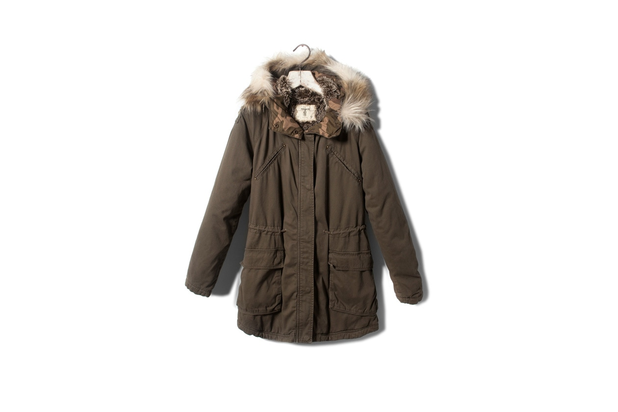 Top List Parka pull&bear
