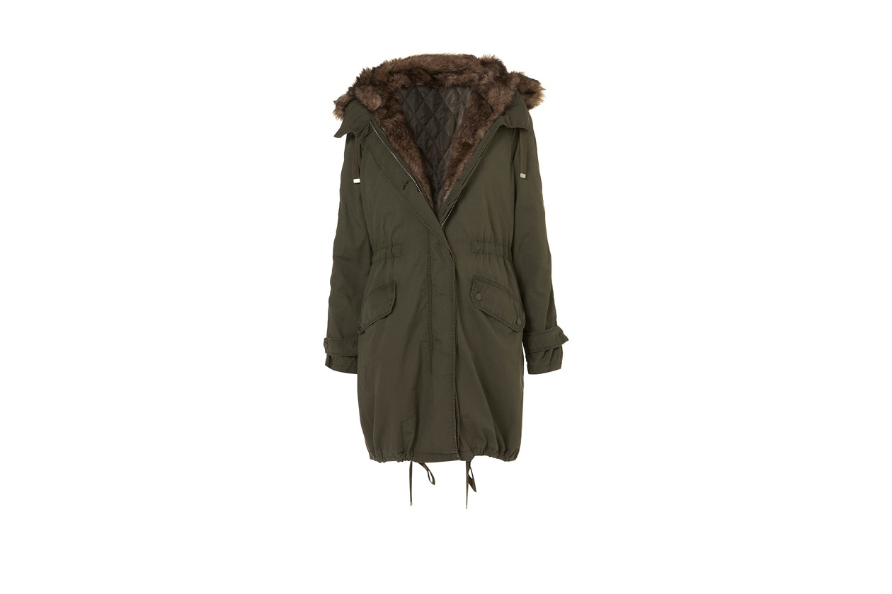 Top List Parka topshop
