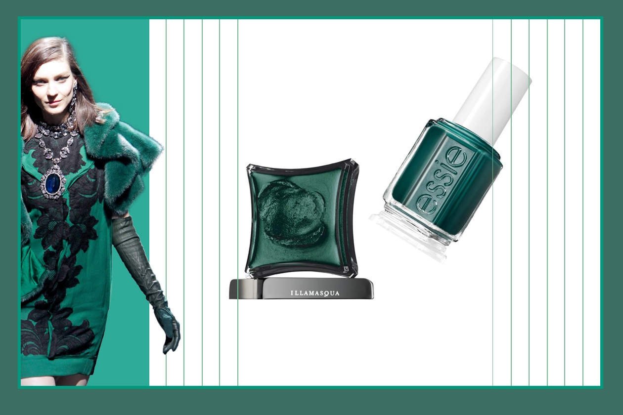Ultramarine Green Lanvin Essie illamasqua