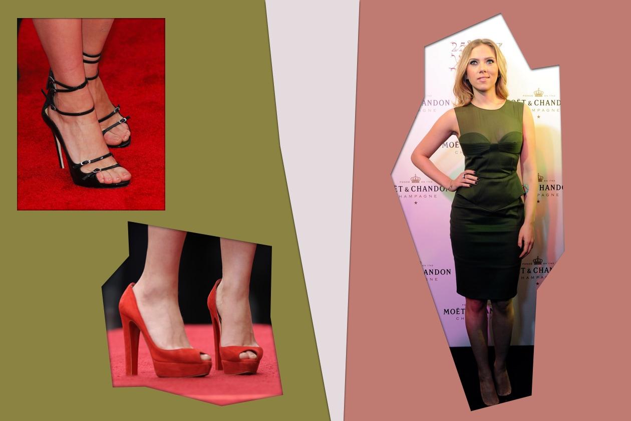 Unghie senza lacca per Scarlett Johansson