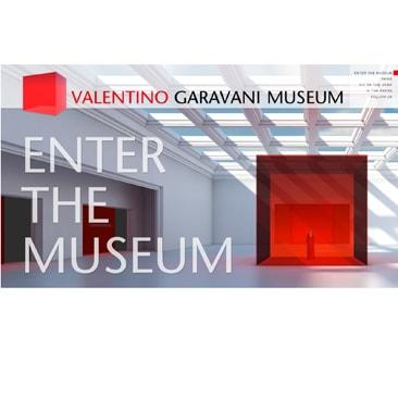 Valentino sul web e alla Somerset House