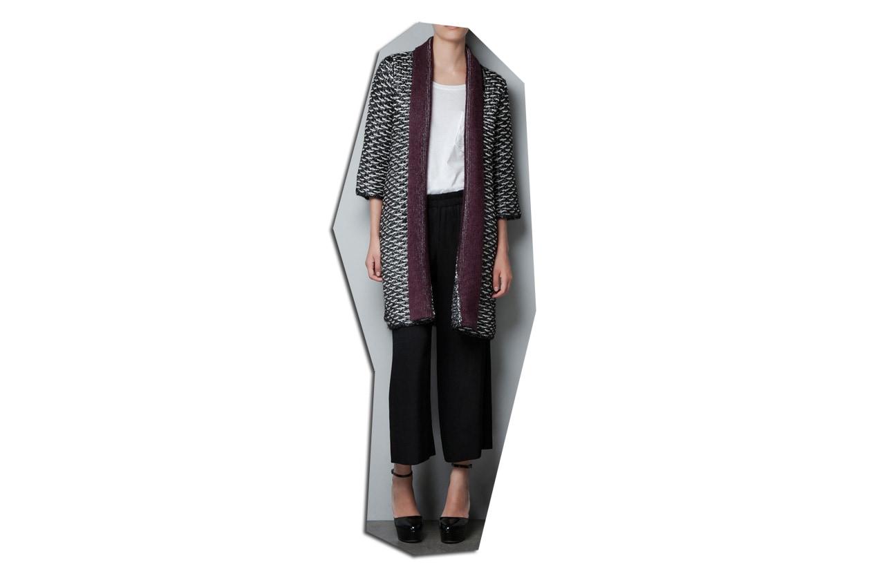Zara maglione cappotto