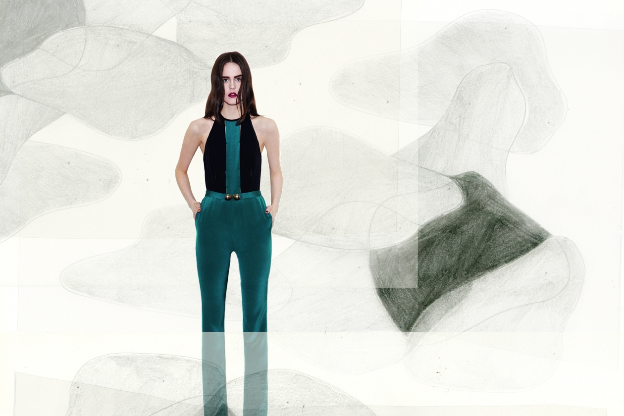 Pantaloni smeraldo di Barbara Casasola
