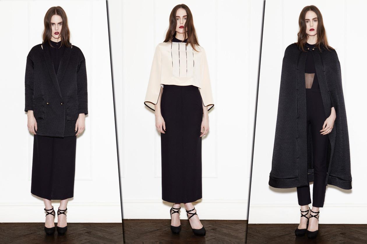 Collage abiti bianco e nero di Barbara Casasola