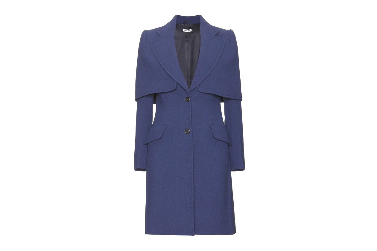 P00049243 COAT WITH CAPELETTE STANDARD
