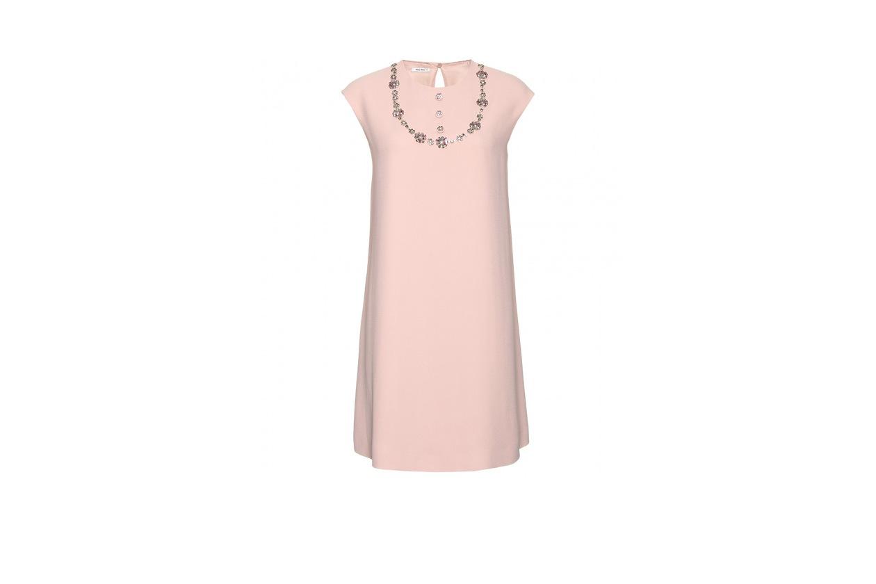 TopList abiti borse gioiello P00049024 EMBELLISHED SHIFT DRESS STANDARD