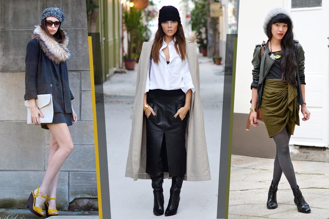 Il berretto di lana indossato dalle fashion bloggers