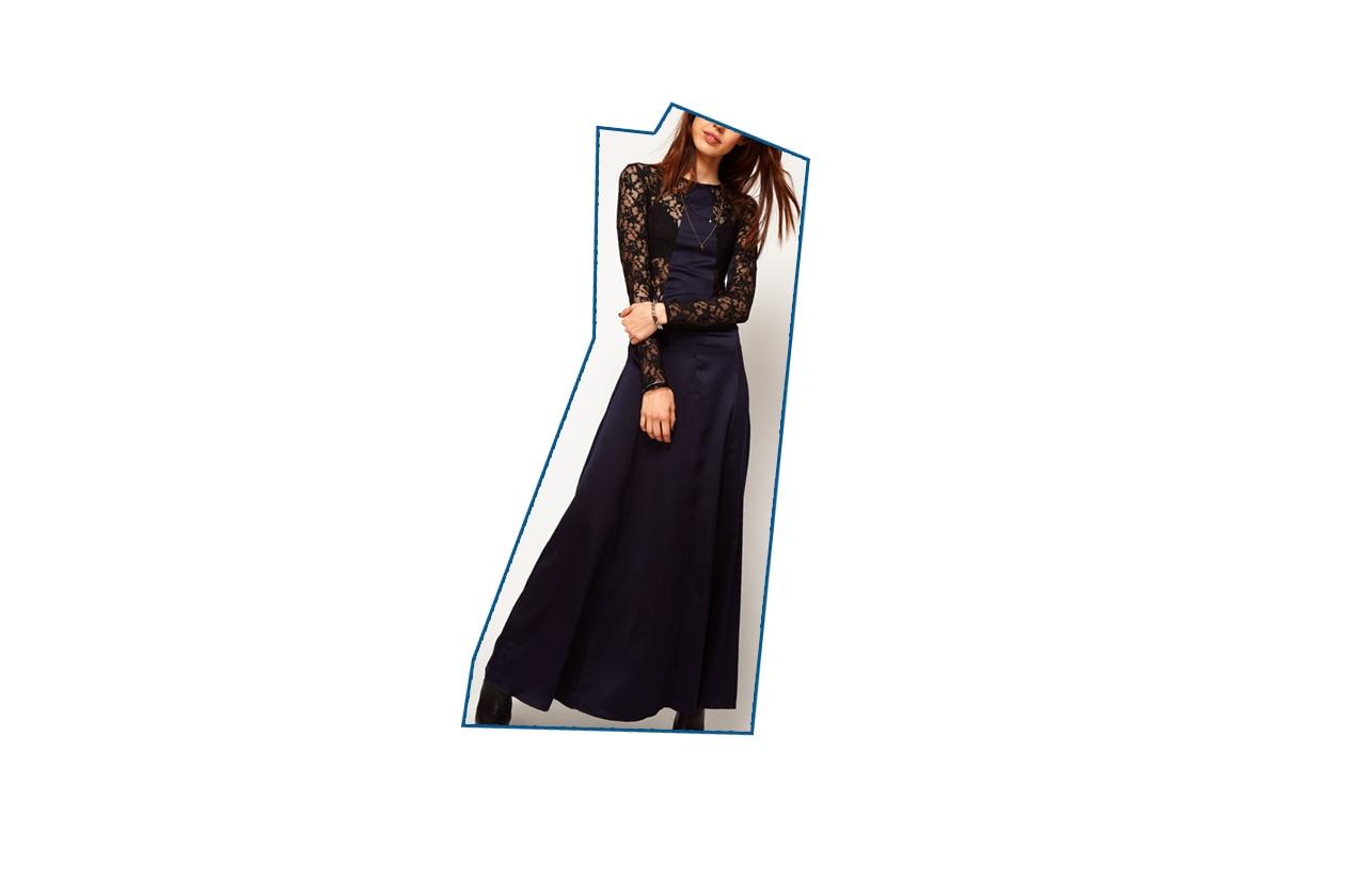 02 Capodanno Look Haute couture Asos abito blu