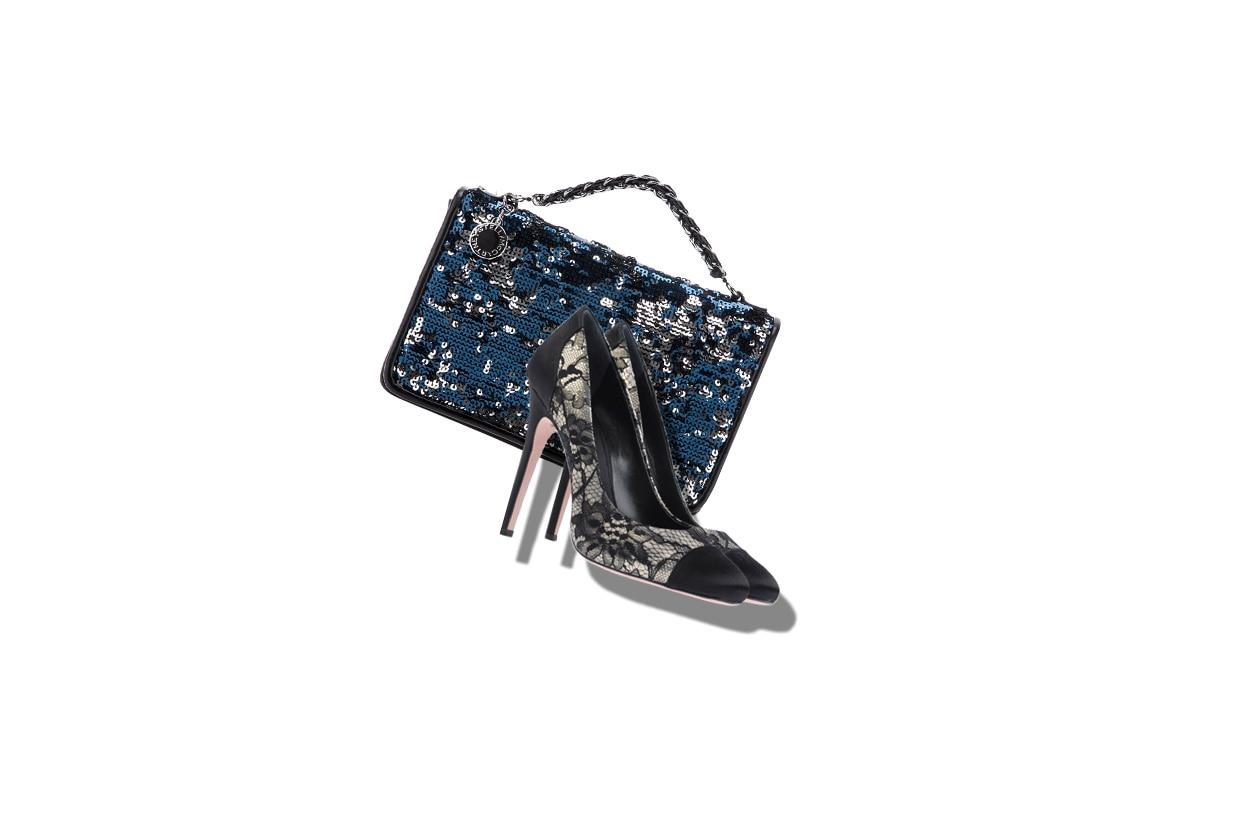 03 Capodanno Look Haute couture Borsa Stella McCartney Giambattista valli shoes