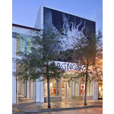 Agnona: pop up store a Miami