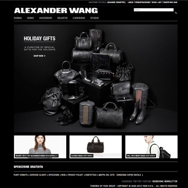 Alexander Wang apre l'e-shop all'Europa