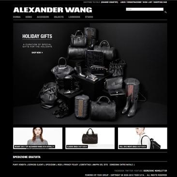 Alexander Wang apre l'e-shop all'Europa