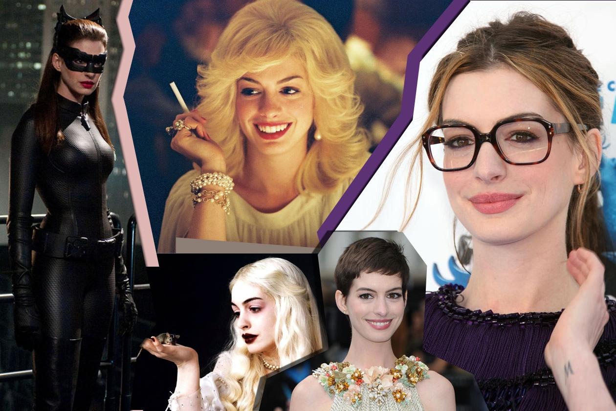 Anne Hathaway Collage