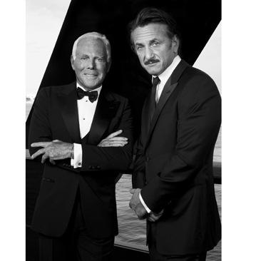 Armani e Sean Penn insieme per Haiti