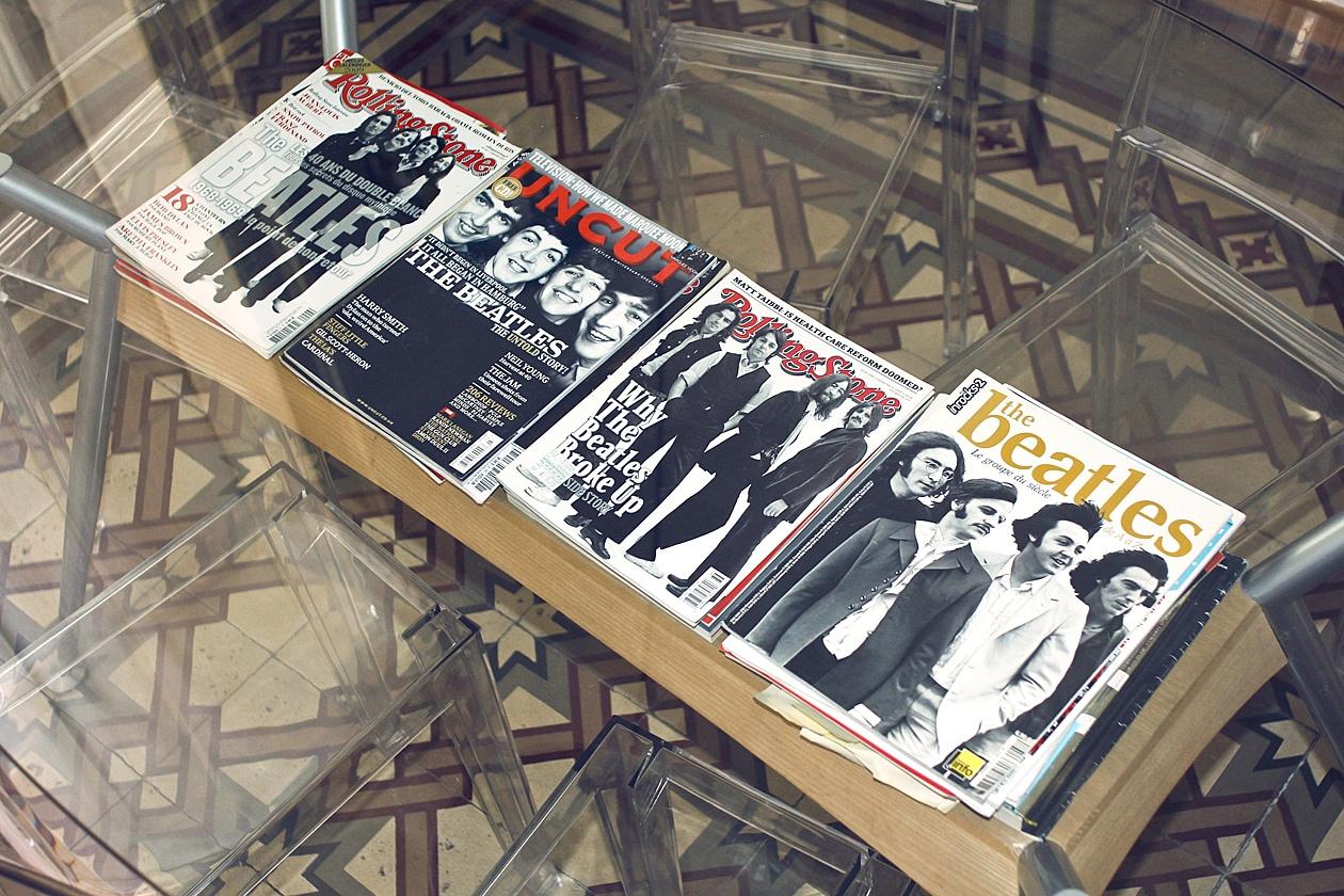 Beatles copertine magazine