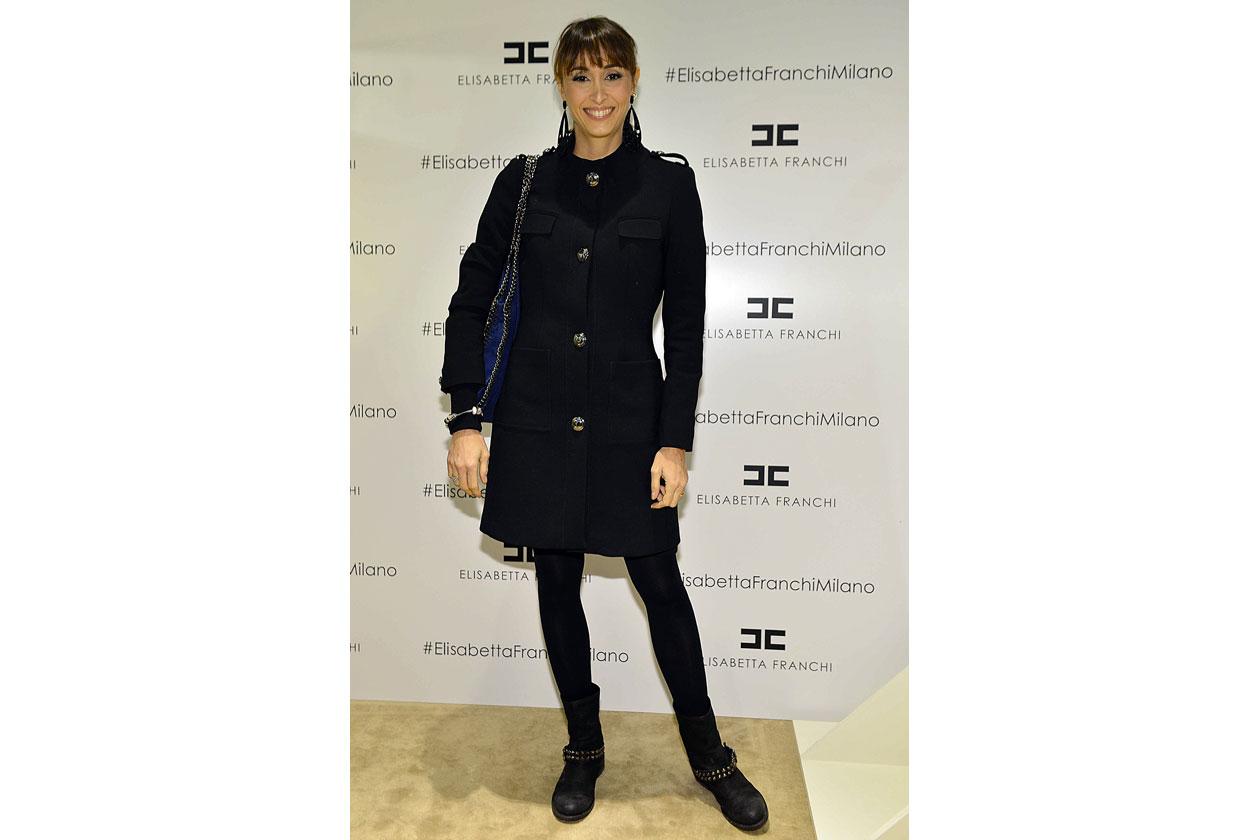 Benedetta Parodi Elisabetta Franchi opening Milano