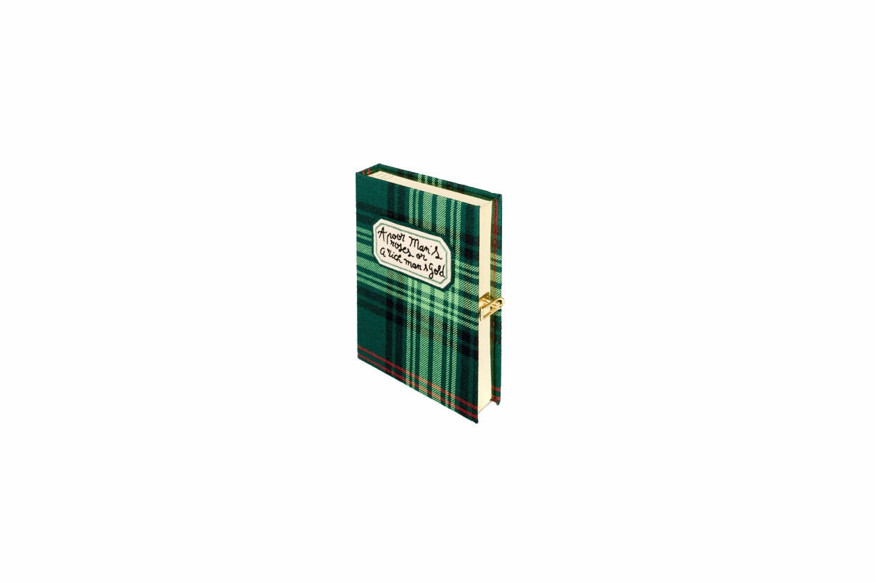Book clutch by Olympia Letan