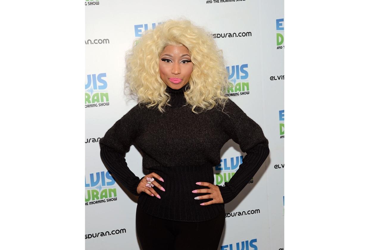 È sempre molto ironica la rapper Nicki Minaj
