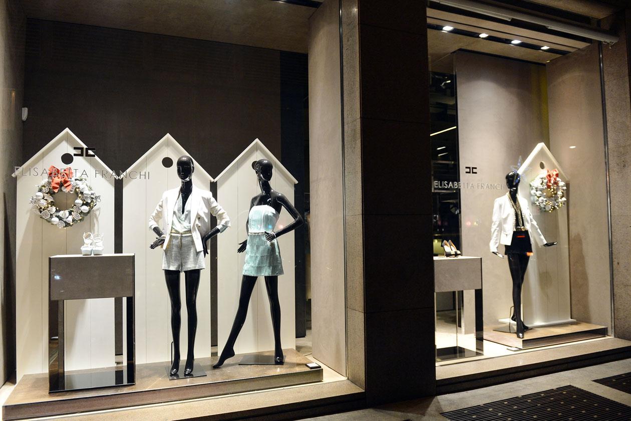 Elisabetta Franchi Boutique Via Manzoni 37, Milano (8)