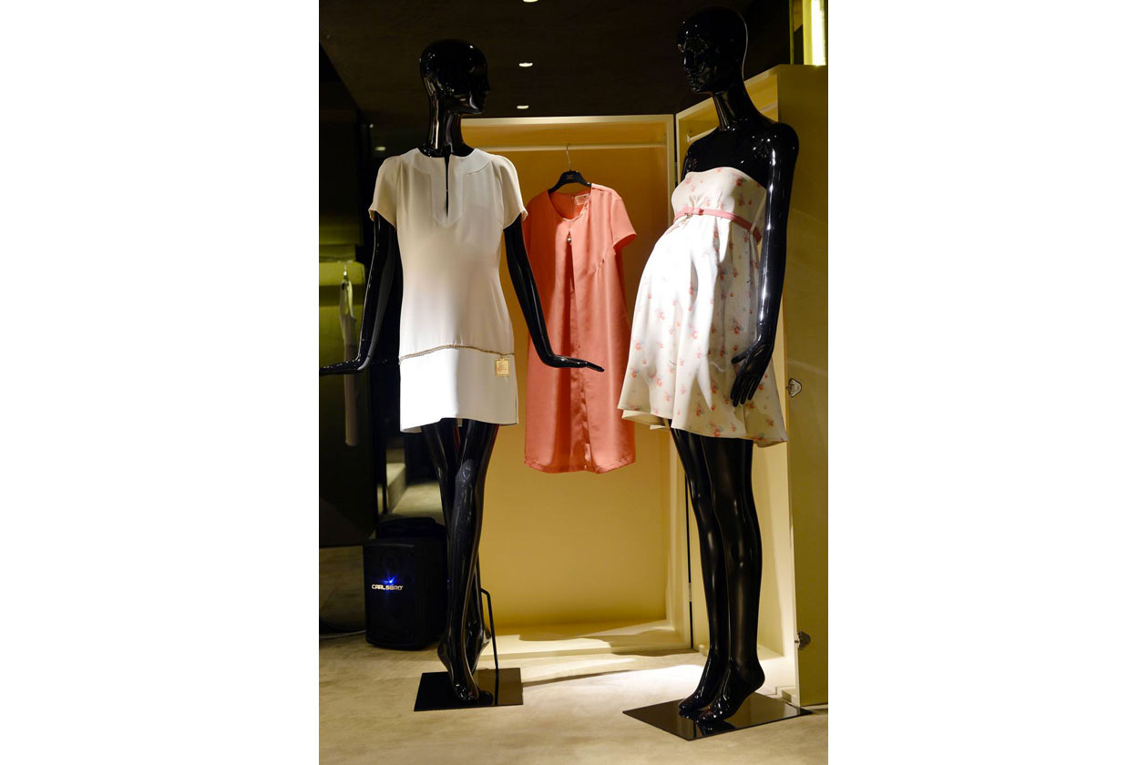 Elisabetta Franchi boutique Milano MUMMY