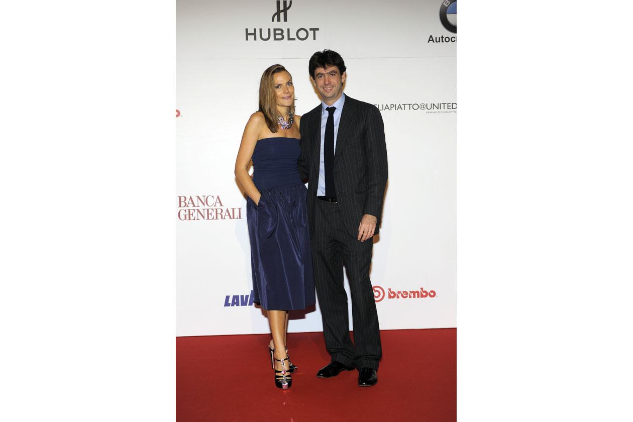 Emma e Andrea Agnelli