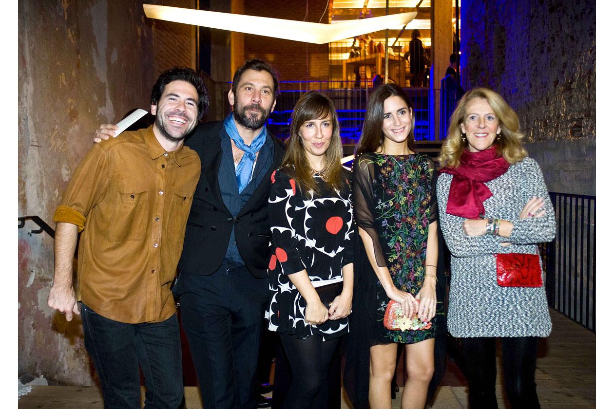 Enrique Campos, Elena Lopez Avila, Gala Gonzalez, Pilar Martinez