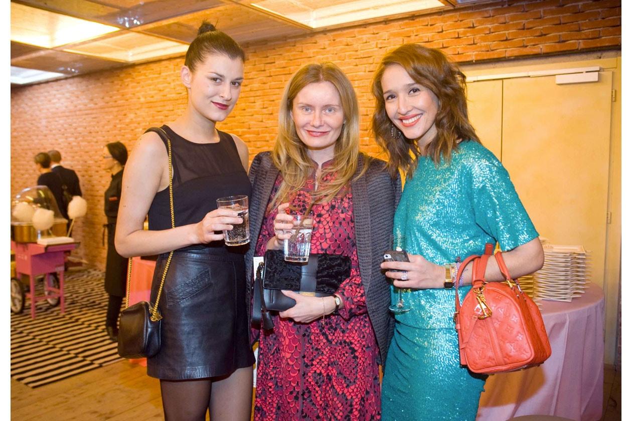 Evelien Tomaszewsky, Claudine Duvivier, Tiany Kiriloff