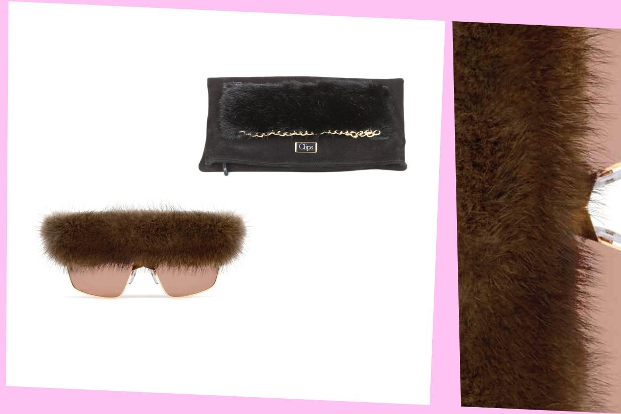 Fur Details GIVENCHY 20B HR CLIPS 1727